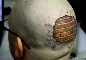 brick tattoo