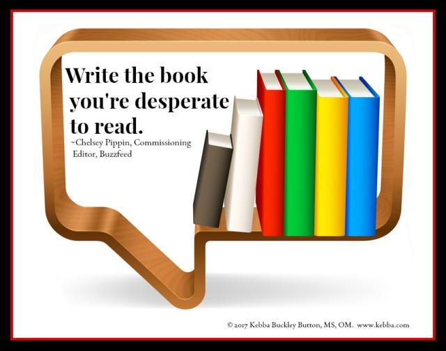 2017 Write the book